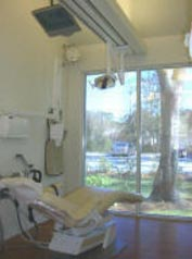 Scenic view from our treatment room at Camellia Creek Dental Center